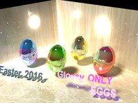 Easter 2016 - Glossy Eggs ONLY