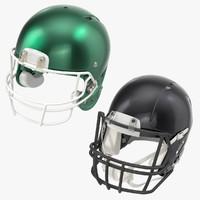 3d football helmets model