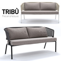 3d model tribu contour sofa