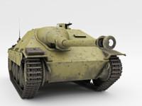 3d jagdpanzer 38 hetzer model