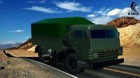 3d kamas 4350 truck
