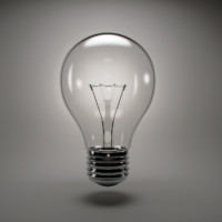 incandescent light bulb 3d max
