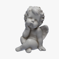 3d model little angel