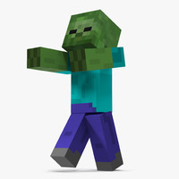 max minecraft zombie rigged