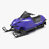 3d snowmobile generic