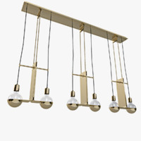 3d geneva chandelier model