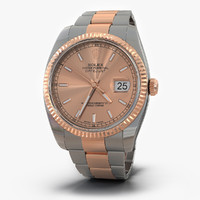 rolex datejust everose gold max
