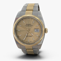 max rolex datejust steel gold