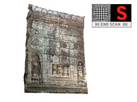 cambodia temple wall 8k obj