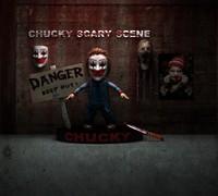 3d chucky hd render scene