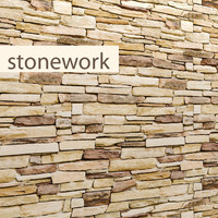 3d stone slate