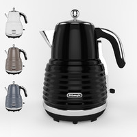 3d model kettle colors design
