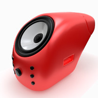 3d model designed speaker