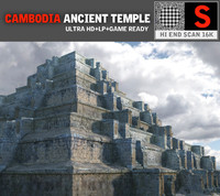 pyramid temple pack 3 3d model
