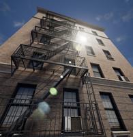 3d newyork building
