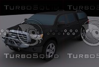 toyota tundra 2009 3d model