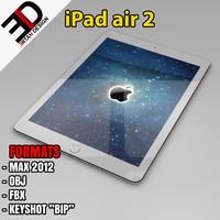 3d ipad air 2 model