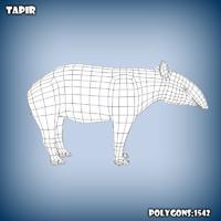 base mesh tapir c4d