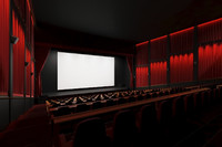 3d model - auditorium stage theater
