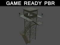 3d watch tower 02