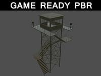 3d watch tower 02