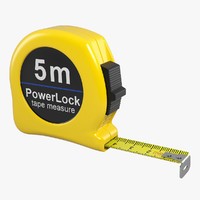 3d model tape measure