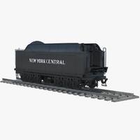 hudson coal tender 3d model