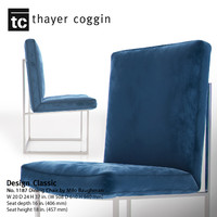 design classic 1187 dining chair 3d max
