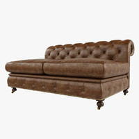 3d restoration hardware 60 kensington model