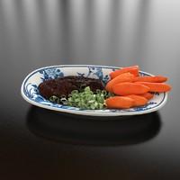 14 satay sweet potato 3d model