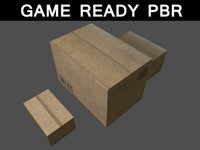 3d cardboard boxes 01