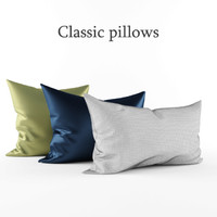 3d pillows model