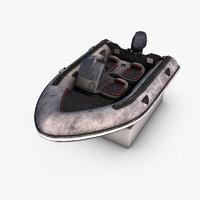 motorboat photorealistic max