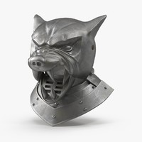 3d model hound s helm