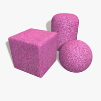 Playground Flooring Pink