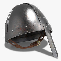 3d model norman helmet