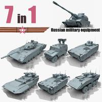 russian armata 3d model