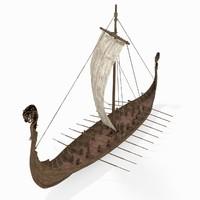 3ds viking ship