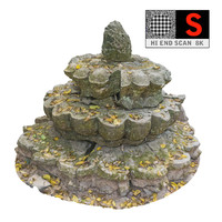 ancient buddhist stupa 8k 3d obj