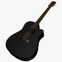 free 3ds model guitar