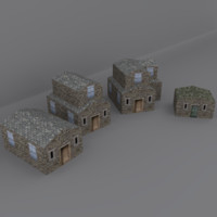 medieval home environment 3d max