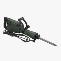 electric demolition jack hammer 3ds