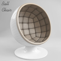 ball chair 3d 3ds