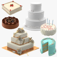 3d model cakes 02