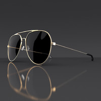 3d model sunglasses sun