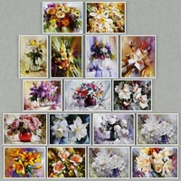 3d 3ds paintings flowers