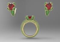 3d model printable gems