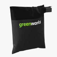 3d leaf blower bag vertical model
