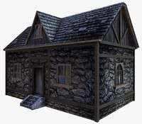 Old House LowPoly