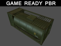 container gas 01 3d model